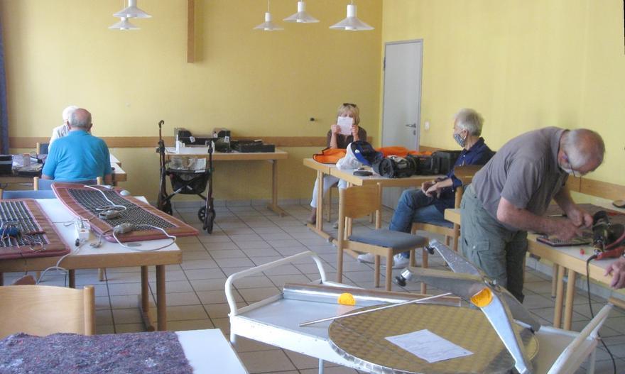Repair Café unter erschwerten Bedingungen